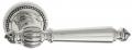"""Дверная ручка Venezia """"PELLESTRINA"""" D3 натуральное серебро + черный"""