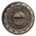 Фиксатор поворотный Venezia WC-1 D2 античная бронза