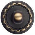 Фиксатор поворотный Venezia WC-1 D2 темная бронза