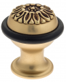 Упор дверной напольный Venezia ST5 французское золото + коричневый