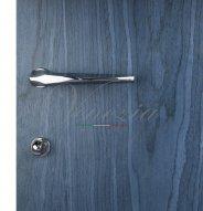 """Дверная ручка Venezia Unique """"STONE"""" (серия SLIM) полированный хром"""