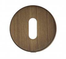 Накладка под ключ буратино на круглом основании Fratelli Cattini KEY 7-BY матовая бронза 2 шт.