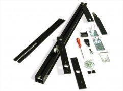 Трэк для рото механизма Ergon, комплект для двери LP=44/64 Black T.E.