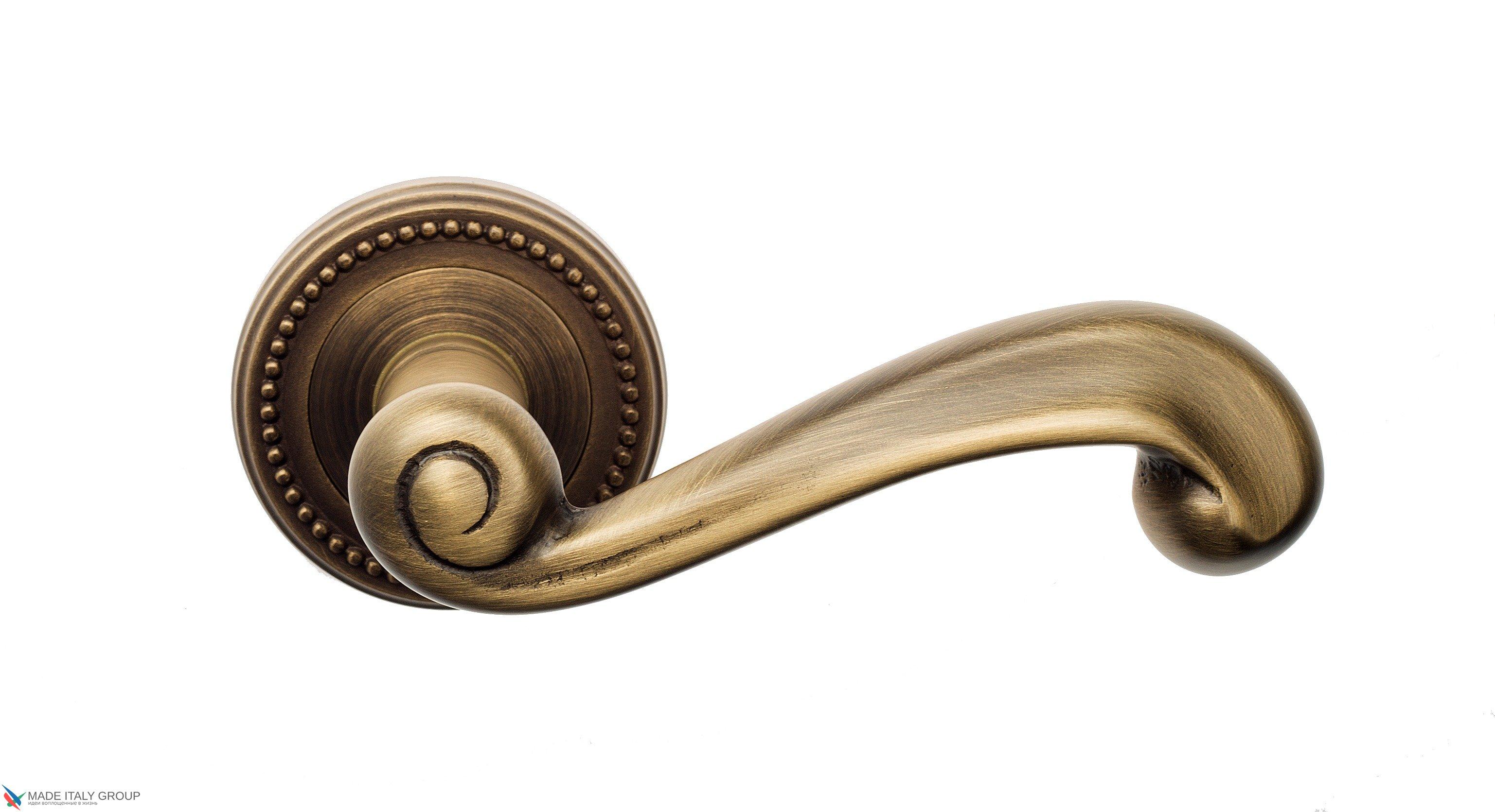 """Дверная ручка Venezia """"CARNEVALE"""" D3 матовая бронза"""
