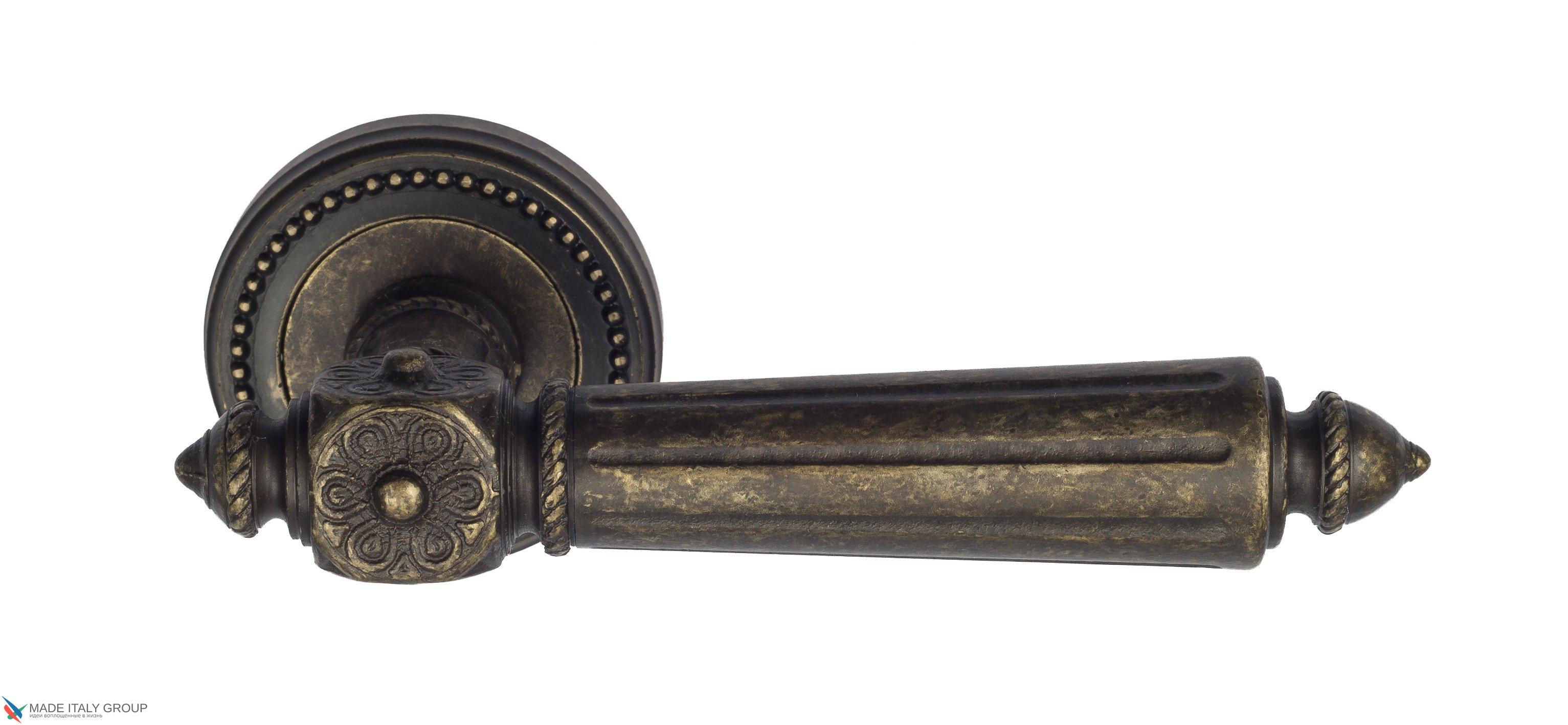 "Дверная ручка Venezia ""CASTELLO"" D3 античная бронза"