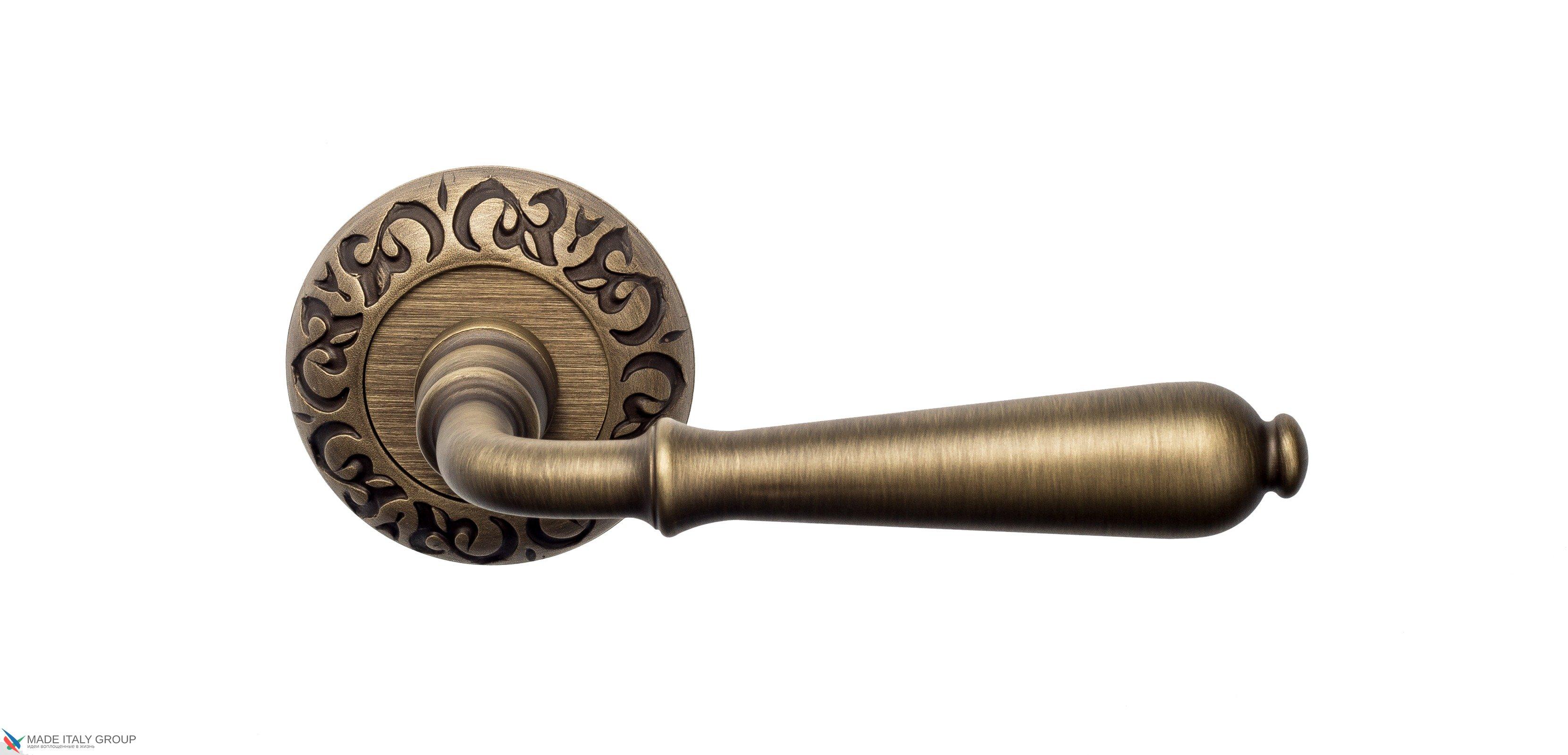 "Дверная ручка Venezia ""CLASSIC"" D4 матовая бронза"