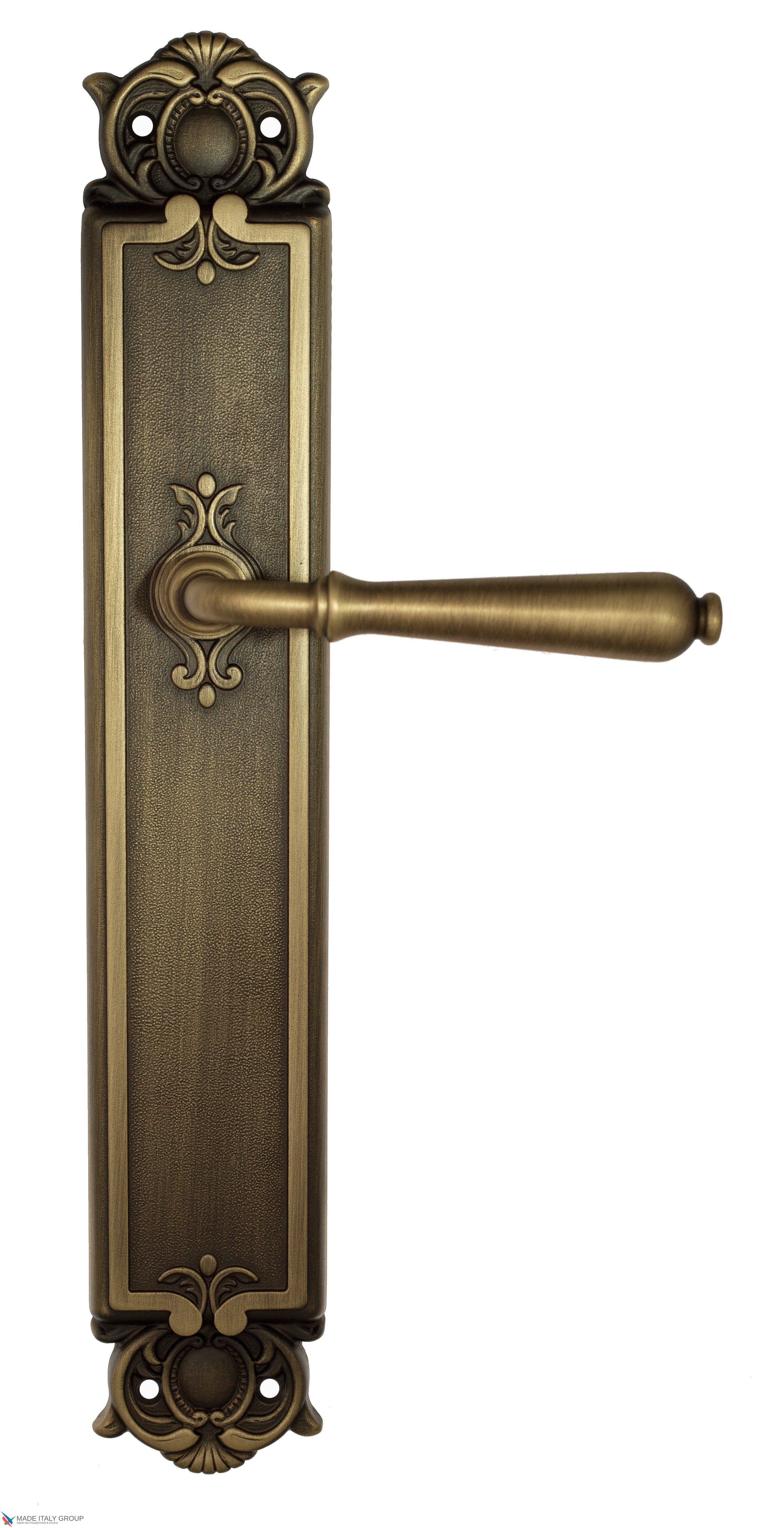 """Дверная ручка Venezia """"CLASSIC"""" на планке PL97 матовая бронза"""