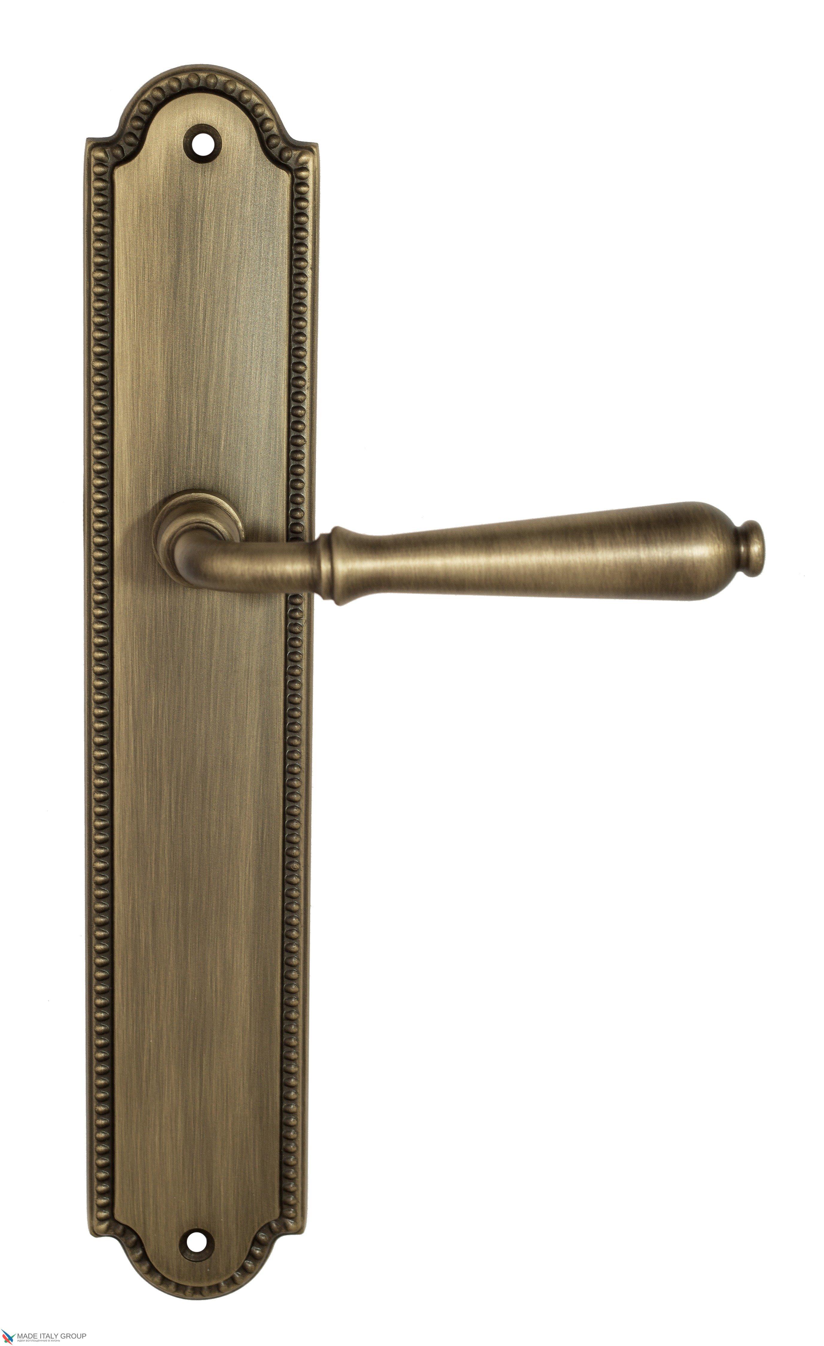 """Дверная ручка Venezia """"CLASSIC"""" на планке PL98 матовая бронза"""
