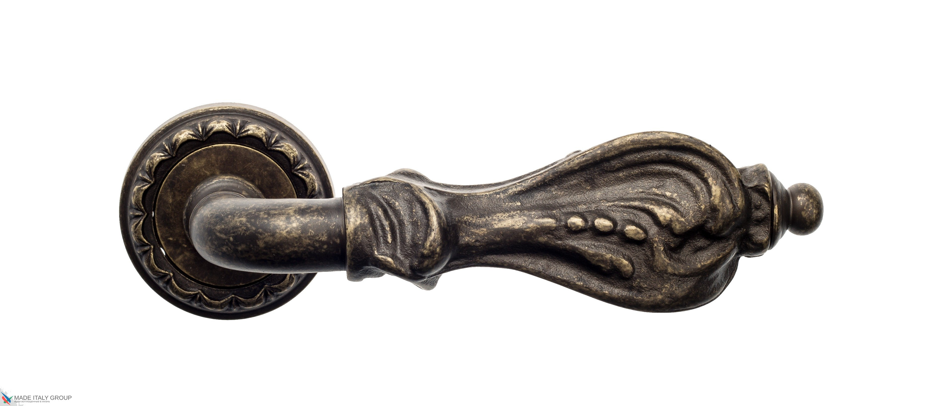 "Дверная ручка Venezia ""FLORENCE"" D2 античная бронза"