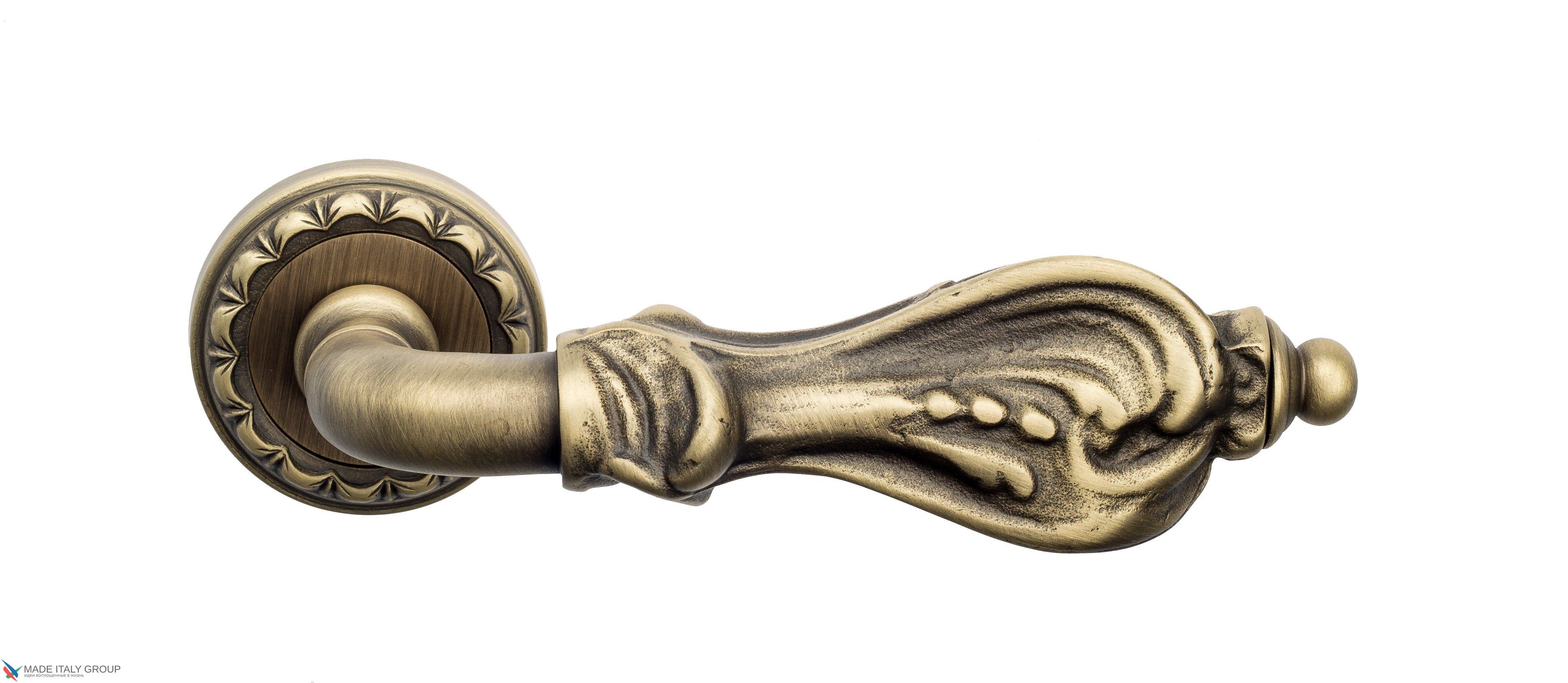 "Дверная ручка Venezia ""FLORENCE"" D2 матовая бронза"