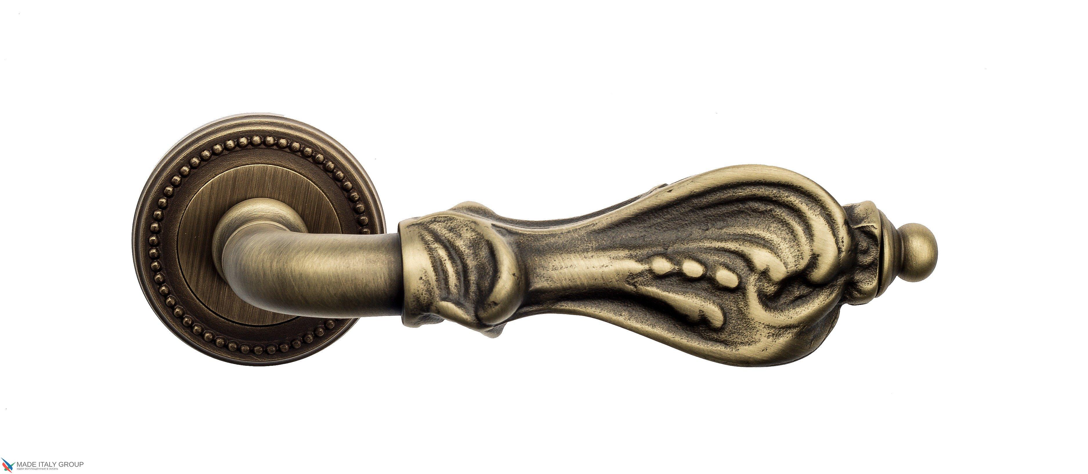 "Дверная ручка Venezia ""FLORENCE"" D3 матовая бронза"