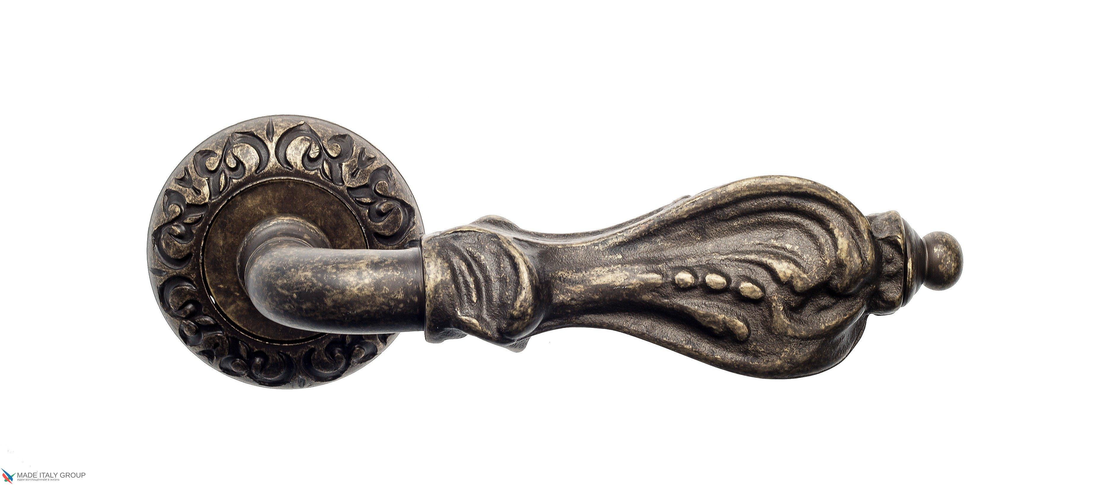"Дверная ручка Venezia ""FLORENCE"" D4 античная бронза"