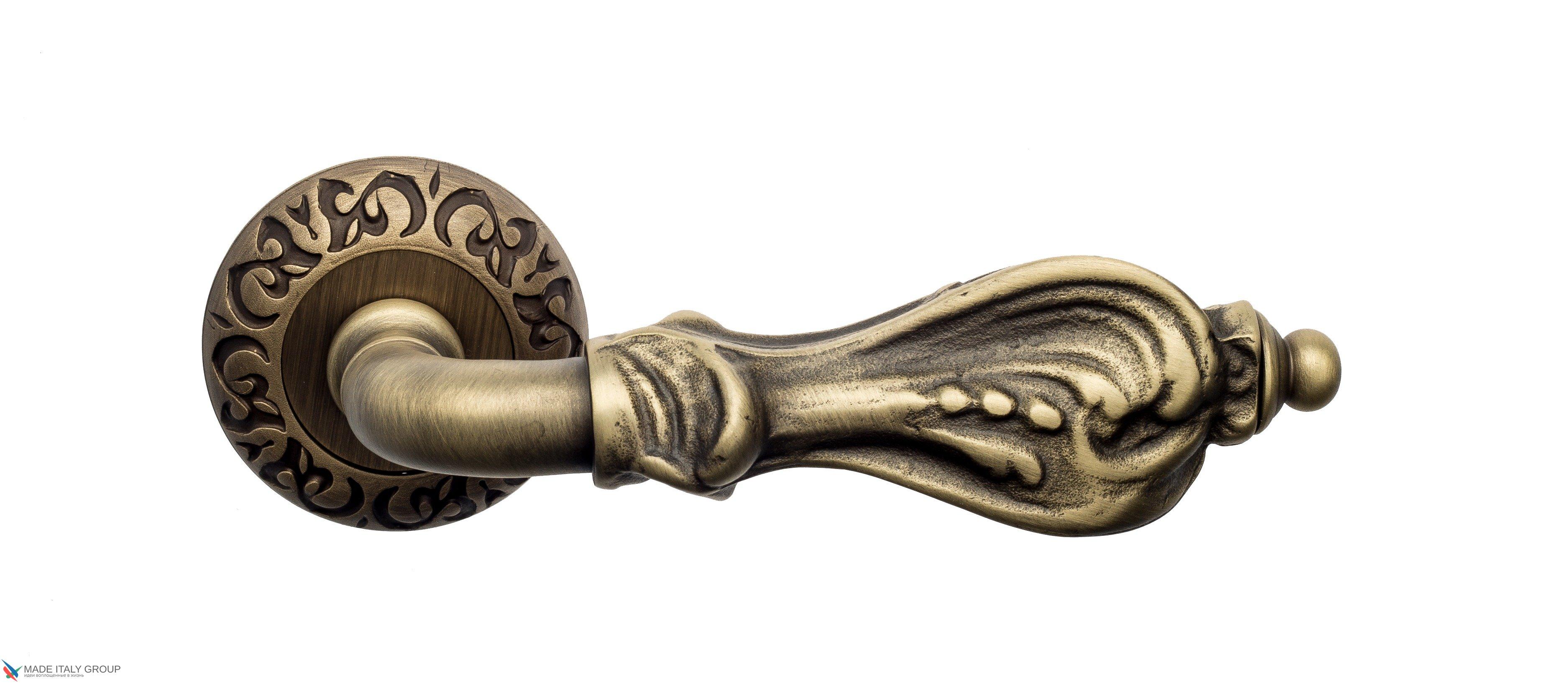 "Дверная ручка Venezia ""FLORENCE"" D4 матовая бронза"