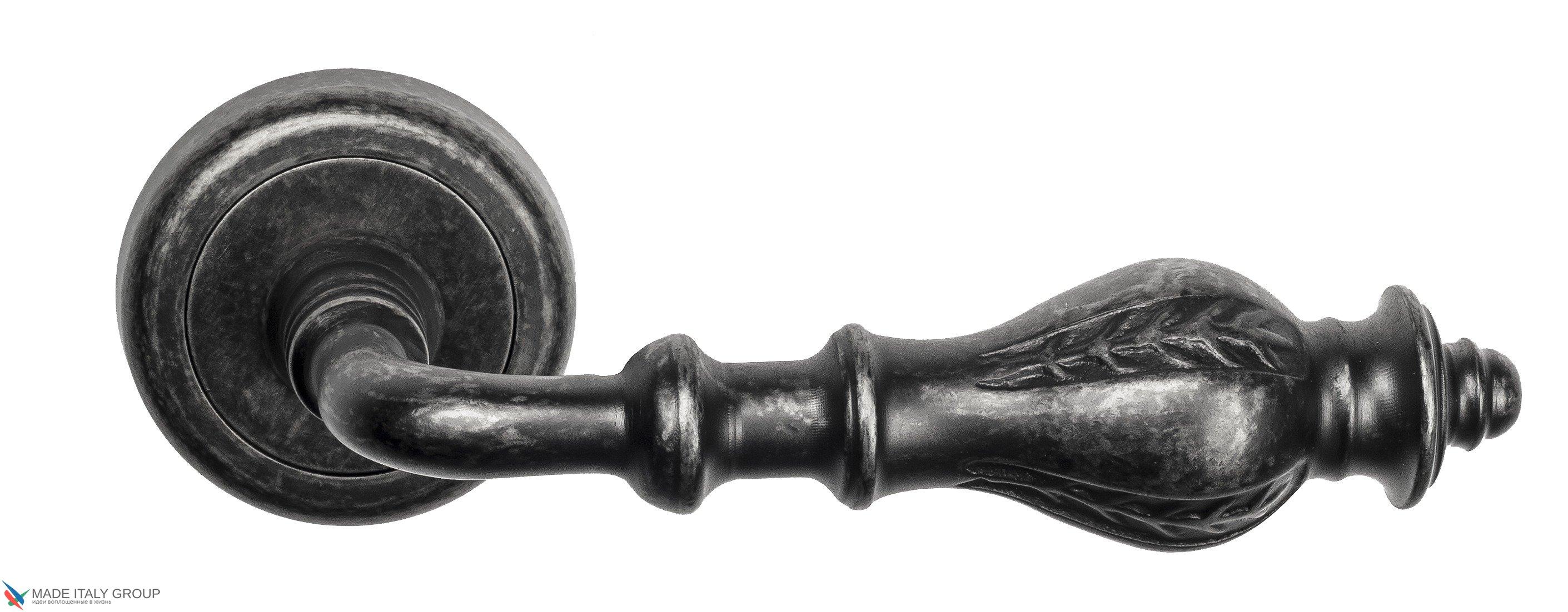 "Дверная ручка Venezia ""GIFESTION"" D1 античное серебро"