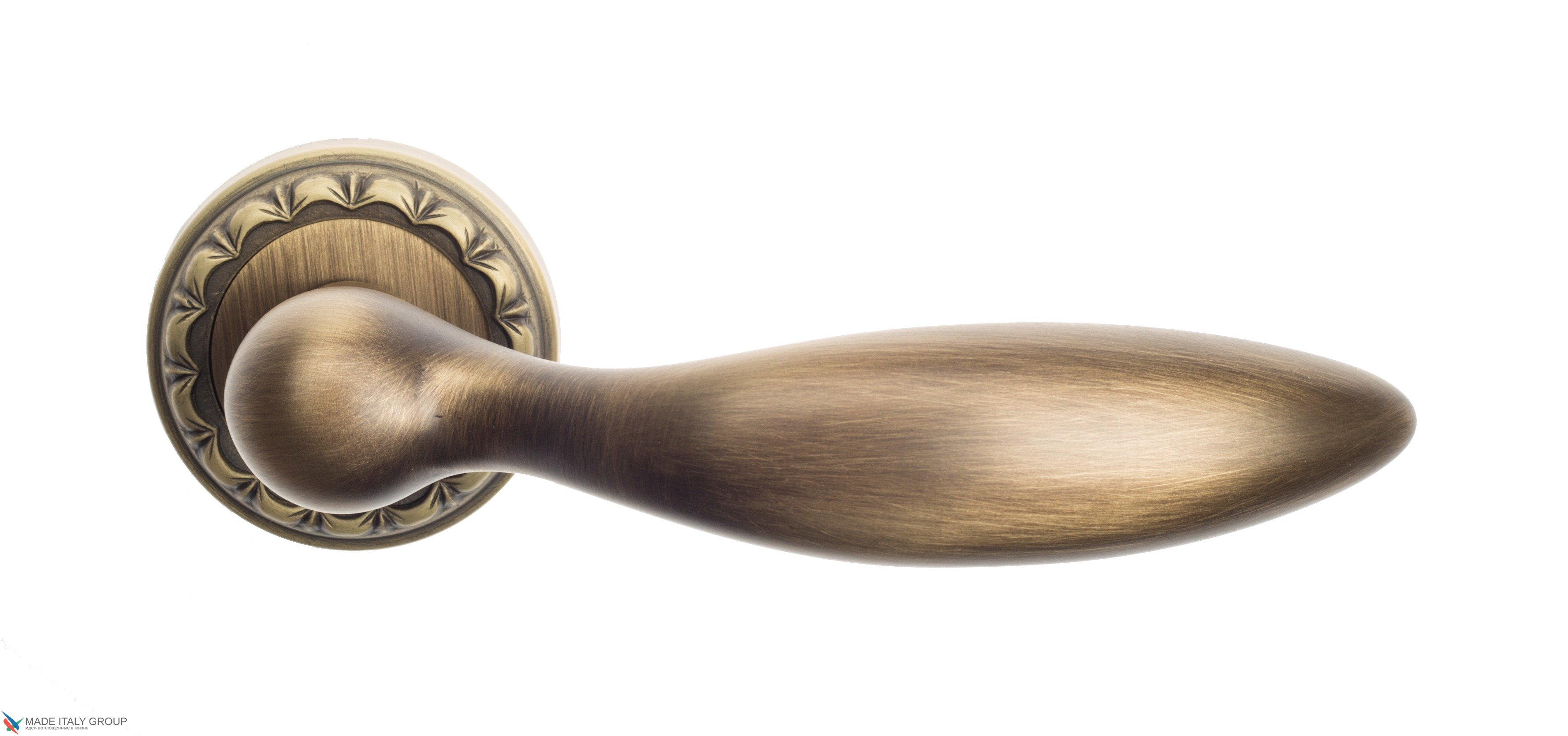 "Дверная ручка Venezia ""MAGGIORE"" D2 матовая бронза"