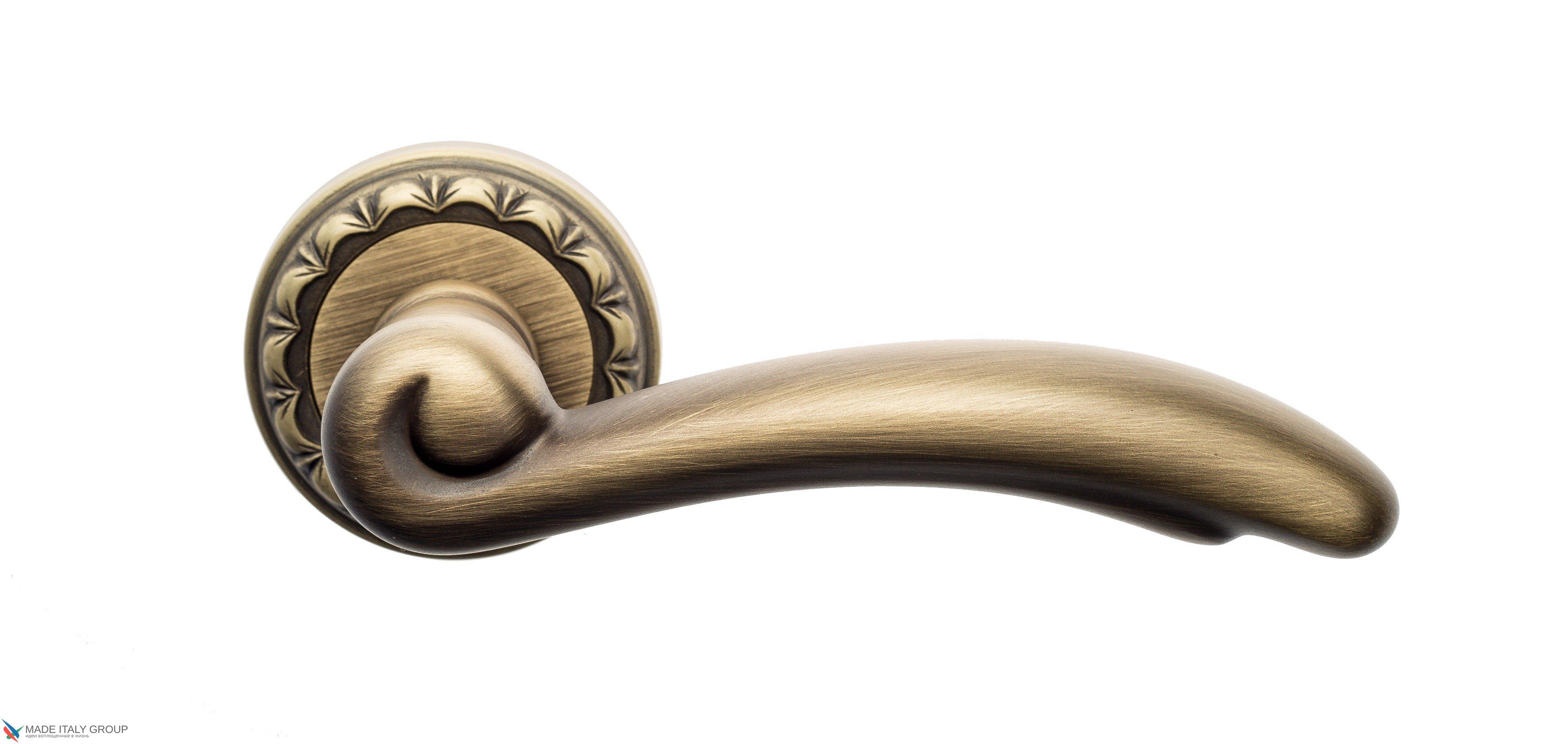 "Дверная ручка Venezia ""VERSALE"" D2 матовая бронза"