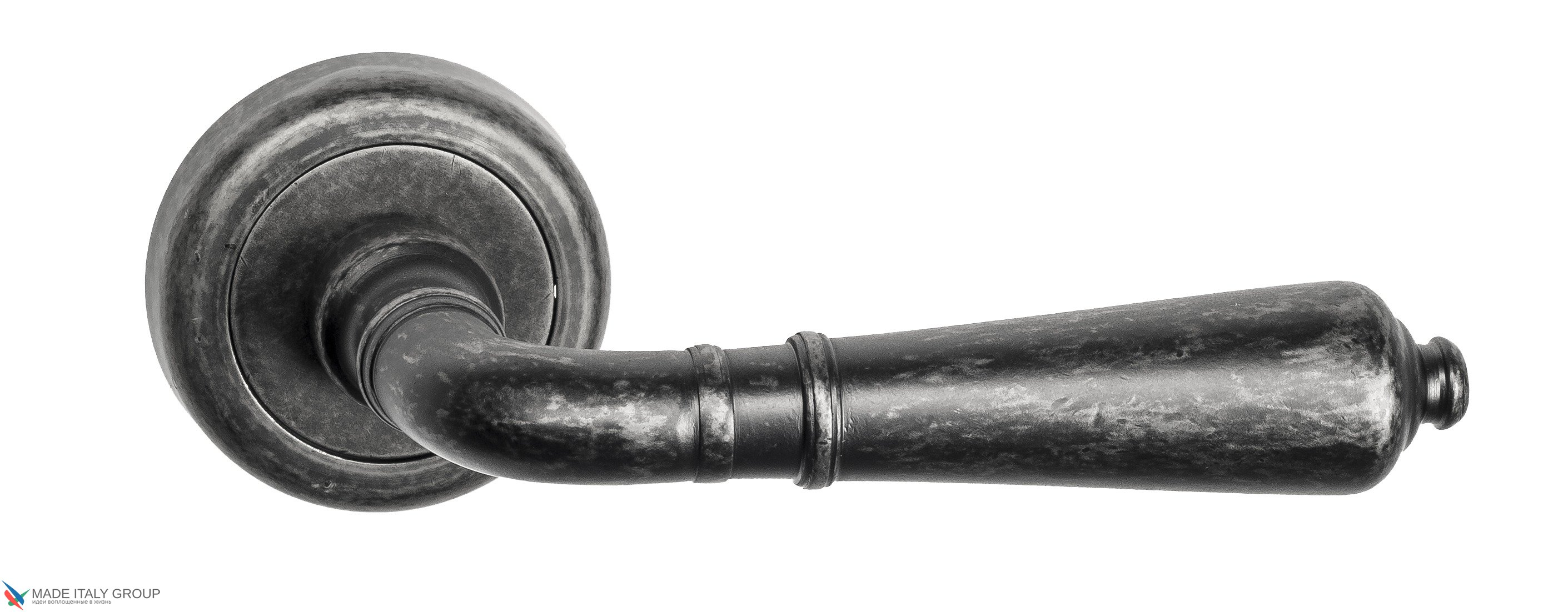 """Дверная ручка Venezia """"VIGNOLE"""" D1 античное серебро"""