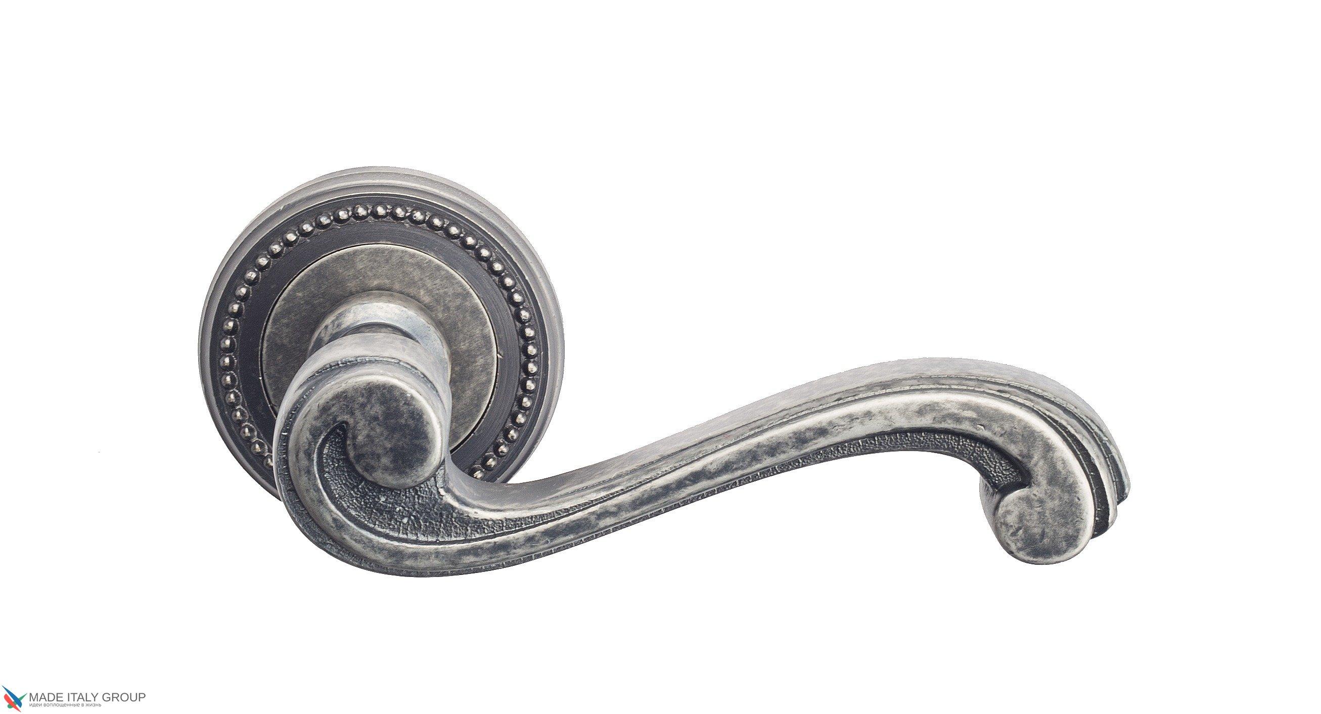 "Дверная ручка Venezia ""VIVALDI"" D3 античное серебро"