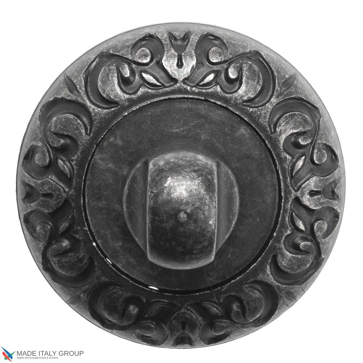 Фиксатор поворотный Venezia WC-1 D4 античное серебро